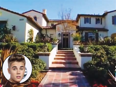 justin biebers house justin bieber s palatial california home captured by tv cameras crime courts duis