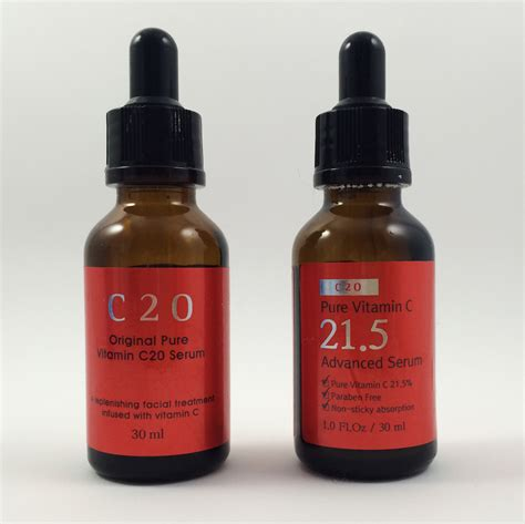 Serum Vit C Korea vitamin c serum showdown c20 vs c21 5