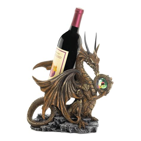 dragon home decor dragon wine bottle holder wholesale at koehler home decor