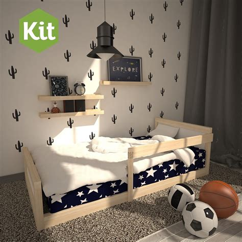 cama montessori cama montessori individual de madera armable para ni 241 os
