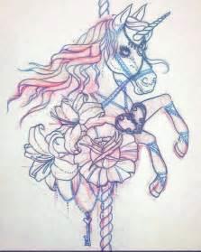carousel unicorn tattoo google search tattoo