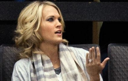 carrie underwood engagement ring cost