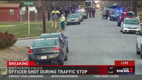 Officer During Traffic Stop by Greensboro Officer 1 Other Injured After