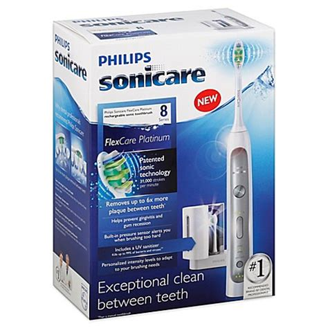 sonicare bed bath and beyond philips sonicare 174 flexcare platinum electric toothbrush