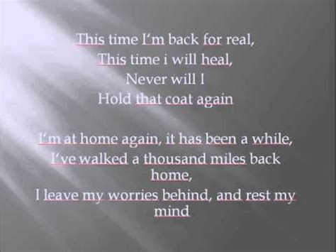rebekka bakken welcome home lyrics
