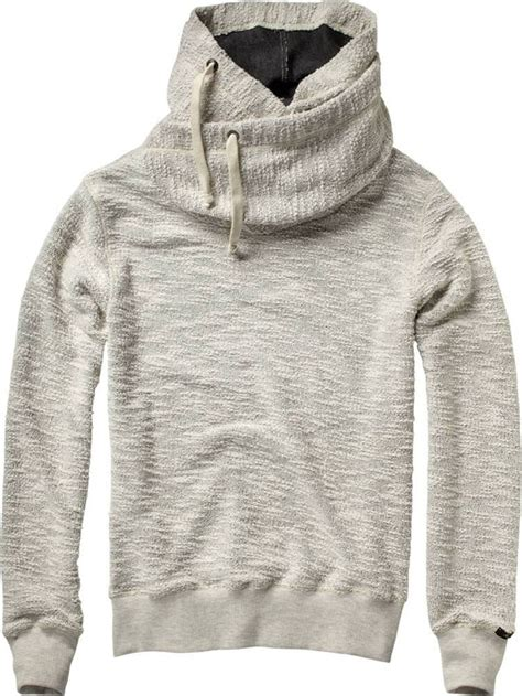 home alone hooded sweater with collar sweats