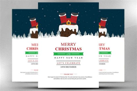 merry template 15 flyer template psd vector eps and indesign