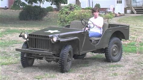 bantam jeep for sale rare 1941 bantam rc wwii military jeep sullivan