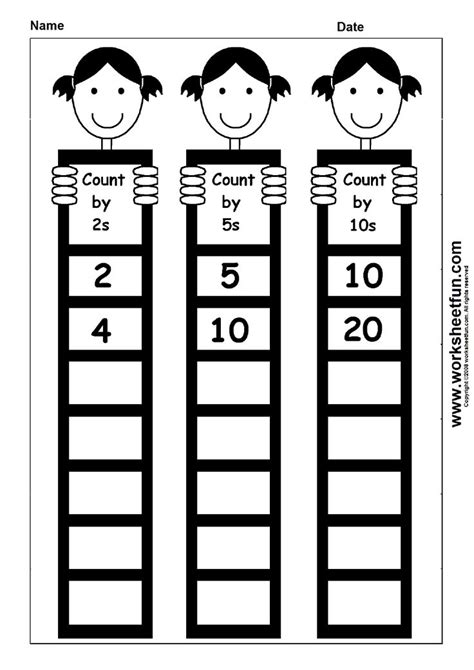 printable worksheets counting by 2 5 10 skip counting by 2 5 and 10 printable worksheets