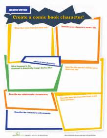 create a superhero worksheet education com