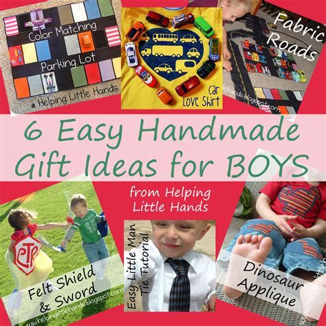 Handmade Gifts For Boys - pieces by polly 6 easy handmade gift ideas for boys