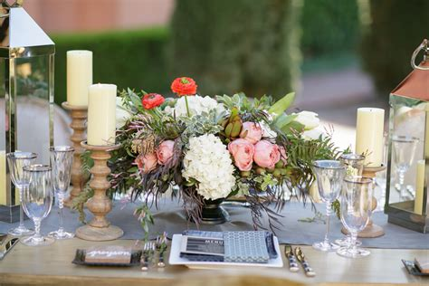 farm table chic outdoor wedding theme for fall weddings