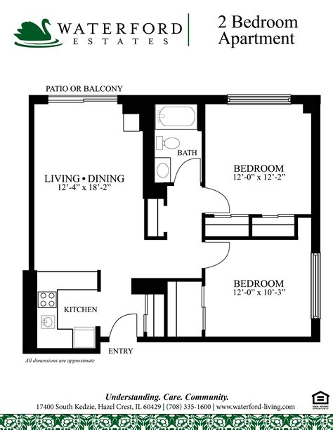 2 bedroom floor plan bay apartments 2 bedroom floor plan bay apartments by bay