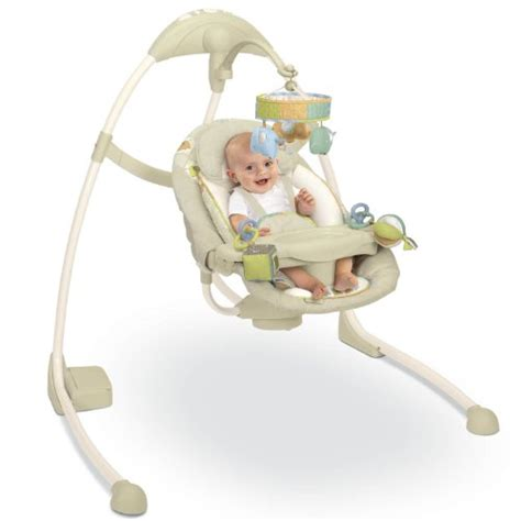 Cheap Baby Swings Cheap Bright Starts Kashmir Ingenuity Size Swing For