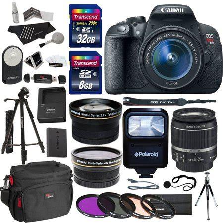 canon eos rebel t5i digital slr camera body bundle with ef