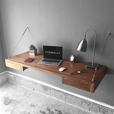 wall mounted floating desk ikea best 20 wall mounted desk ideas on floating