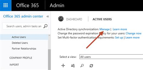 Office 365 Portal Status Preparing For Hybrid Deployment With Exchange And Office 365