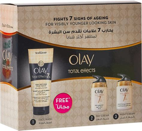Set Olay Total Effect souq olay total effects 7 in 1 anti aging daily