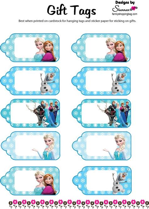 olaf printable gift tags 74 best images about olaf summer on pinterest olaf