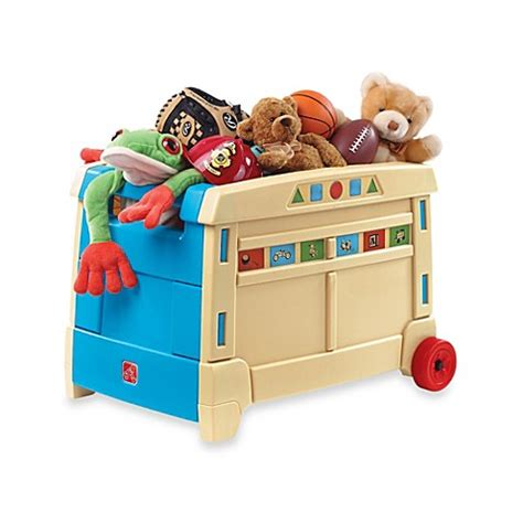 bed bath and beyond toys step2 174 lift and roll toy box bed bath beyond