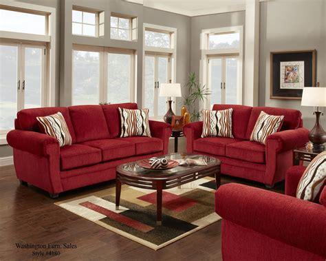 washington samson red sofa  loveseat  www