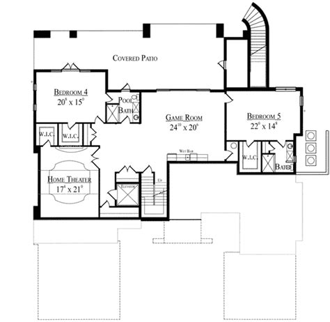 Mediterranean House Plan For Sloping Lot 42039mj Mediterranean House Plans On A Slope