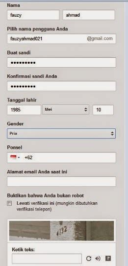 daftar email gmail  membuat email   google
