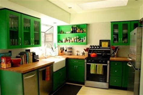 Kitchen Design Green Pretty Interior Design Green Small Kitchen Refrigerator Decobizz
