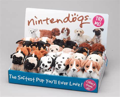 pug nintendogs nintendogs beanies with sound nintendogs beanies 163 5 95 buy anytoys uk