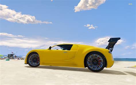 bugatti adder adder bugatti with spoiler gta5 mods