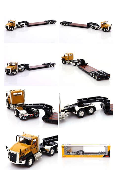 Best Seller Premium 1 50 Caterpillar Cat Ct660 Diecast 1 50 norscot cat caterpillar ct660 day cab tractor lowboy trailer diecast 55503