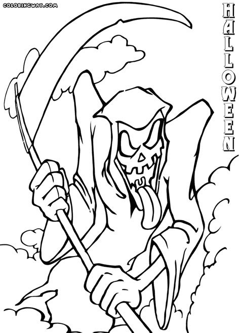 scary coloring pages scary coloring pages coloring pages to