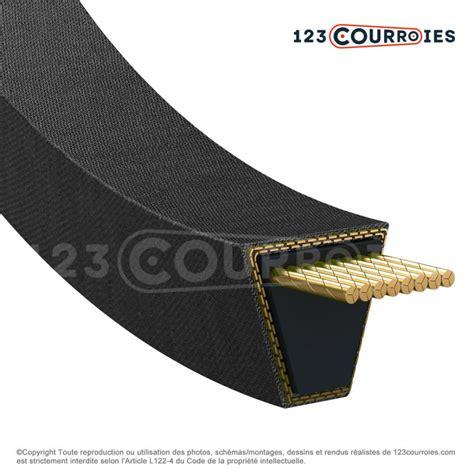Optibelt Spa 1750 courroie trap 233 zoidale lisse spa1750 optibelt 123courroies