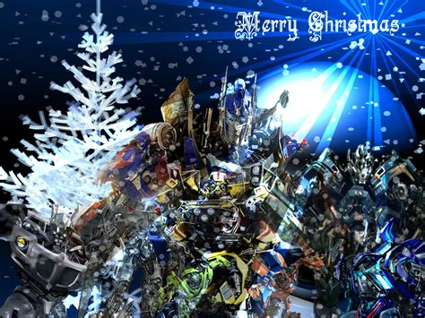 transformers merry christmas by skrillexia tf on deviantart