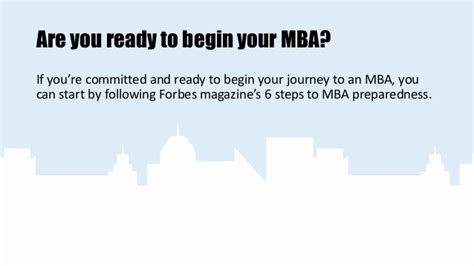 Getting The If You Are Getting Mba by How To Get Started On An Mba