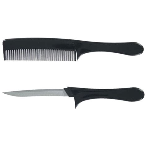 silver blade knife deluxe comb knife silver blade