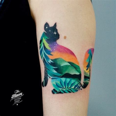 watercolor tattoos in ta watercolor cat www pixshark images