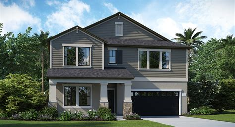 lennar ta starts construction of two model homes at