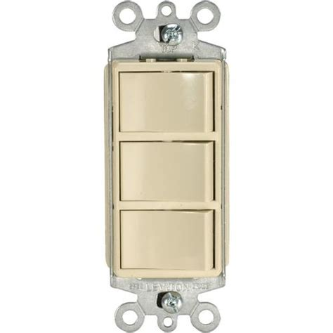 Leviton L Parts by Index Buy Oem Single Pole Switch White Decora