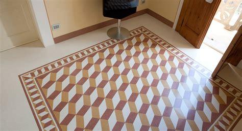 pavimenti in graniglia prezzi foto pavimento in graniglia levigato in opera di