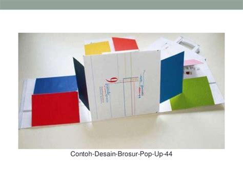 desain pop 27 contoh desain brosur pop up sebagai corporate identity