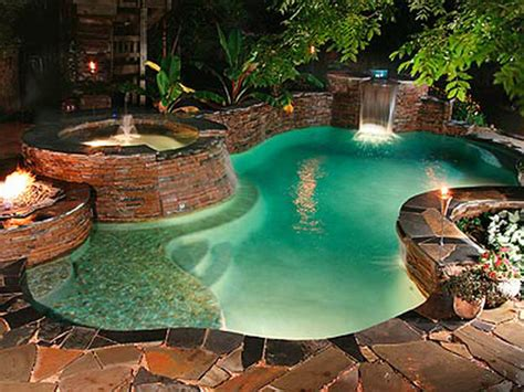 Backyard Grotto by Backyard Grotto Designs Tips Home Decorating Ideas In