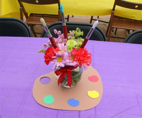 art themed events 1000 images about art themed centerpieces on pinterest