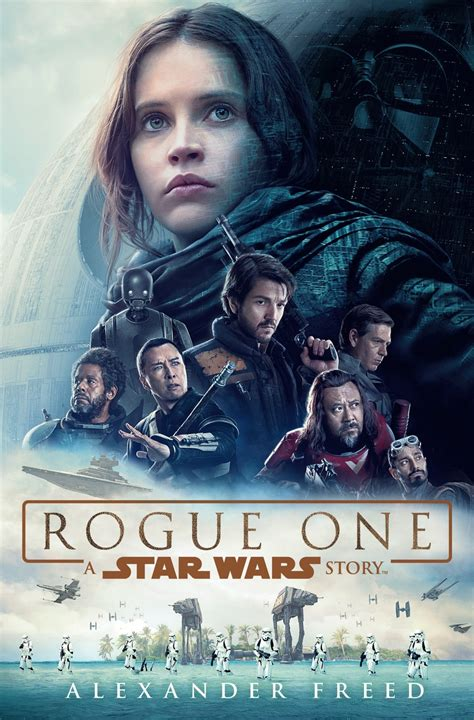 libro rogue one a star revelada la portada de la novela de rogue one