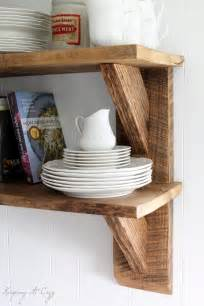 reclaimed barn wood shelves keeping it cozy reclaimed wood kitchen shelves