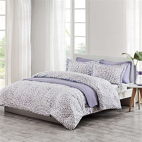 echo mykonos comforter echo design 174 mykonos quilt mini set in lilac bed bath