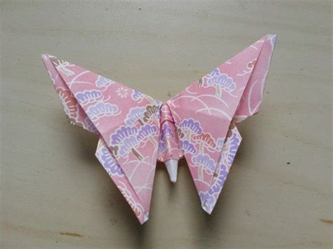 Folded Paper Butterflies - origami butterfly 183 how to fold an origami animal