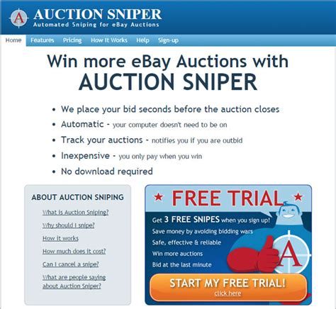 bid sniper software auction bid sniper for ebay auction bid sniper for ebay