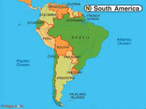 rainforest map south america south american tours explore the rainforests