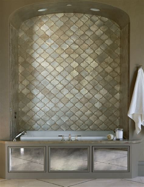 Walker Zanger S Contessa In Silver Leaf Is A Beautiful | pin by jane queyssac on bathrooms sinks tile tubs